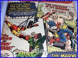 Tales of Suspense #61 CGC SS Signature Autograph STAN LEE Mandarin App. Iron Man