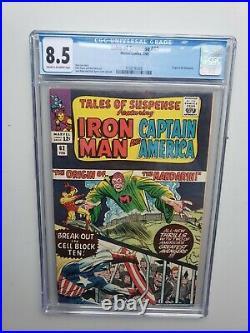 Tales of Suspense #62 CGC 8.5 Marvel Comics Silver Age Mandarin Origin