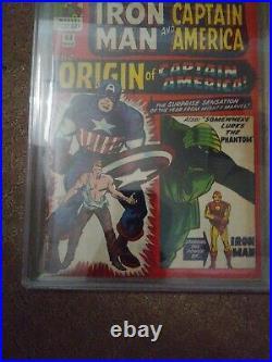 Tales of Suspense #63 pgx graded 5. 1st Silver Age Origin of Captain America