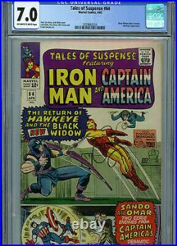 Tales of Suspense #64 CGC 7.0 Marvel Comics 1965 1st Black Widow Costume S3