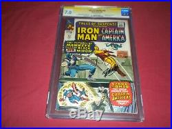Tales of Suspense #64 marvel 1965 CGC 7.0 SS comic! SIGNED STAN LEE! O/W PAGES