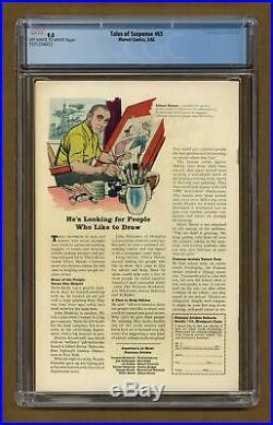 Tales of Suspense #65 1965 CGC 9.0 1571256012