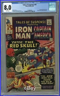 Tales of Suspense #65 CGC 8.0 1965 1158689004 1st Silver Age app. Red Skull