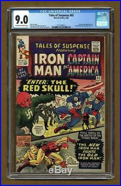 Tales of Suspense #65 CGC 9.0 1965 1571256012 1st Silver Age app. Red Skull