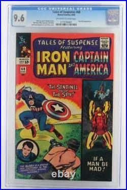 Tales of Suspense #68 MARVEL 1965 -NEAR MINT- CGC 9.6 NM+ Iron Man HIGHEST GRADE
