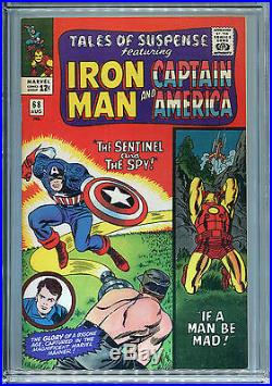 Tales of Suspense #68 (Marvel 1965) CGC Certified 9.2 Off-White-White Pages