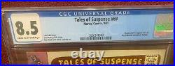 Tales of Suspense #69 Iron Man & Captain America 1st Titanium Man CGC 8.5