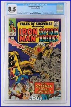 Tales of Suspense #72 CGC 8.5 VF+ Marvel 1965 Avengers & Red Skull