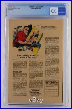 Tales of Suspense #72 -NEAR MINT- CGC 9.2 NM- Marvel 1965 Avengers & Red Skull