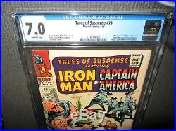 Tales of Suspense 75 CGC 7.0 F/VF, 1st Sharon Carter (Agent 13) Marvel 1966