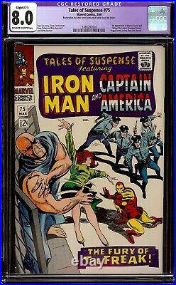 Tales of Suspense #75. CGC apparent 8.0 VF. First appearance of Sharon Carter