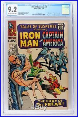 Tales of Suspense #75 Marvel 1966 CGC 9.2 1st App Sharon Carter & Leaper