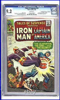 Tales of Suspense #76. CGC 9.2. 1st App. Of Ultimo. DON AND MAGGIE THOMPSON