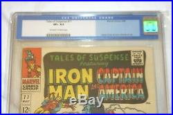 Tales of Suspense 77 CGC 8.5 First Peggy Carter and Ultimo