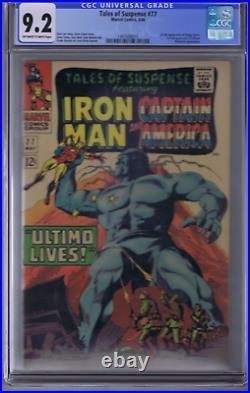 Tales of Suspense #77 Marvel 1966 CGC 9.2 (NEAR MINT -)1st full Peggy Carter