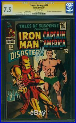 Tales of Suspense #79 (Marvel, 1966) Stan Lee Signature
