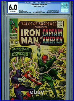 Tales of Suspense #80 CGC 6.0 Marvel Comics 1966 Cosmic Cube B13