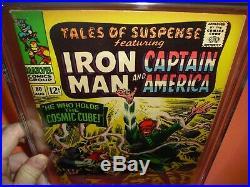 Tales of Suspense #80 CGC 7.0 1966! Classic Red Skull 1st Cosmic Cube not CBCS