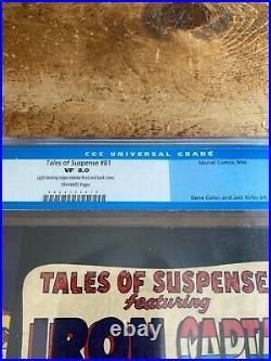 Tales of Suspense #81 CGC 8.0 VF Marvel 1966 Titanium Man & Red Skull App