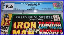 Tales of Suspense #82 CGC 9.6 Pedigree SUSCHA NEWS 1st Adaptoid Titanium Man