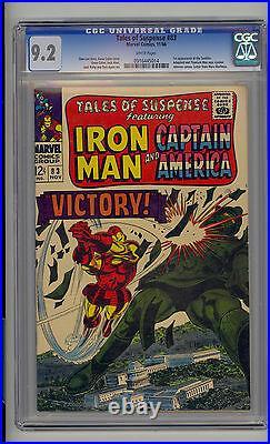 Tales of Suspense #83 CGC 9.2 NM- Marvel Iron Man Captain America 1st Tumbler