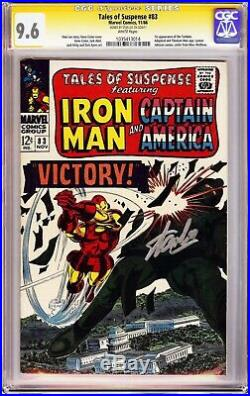 Tales of Suspense #83 CGC 9.6 Signed Stan Lee! Highest Signed Copy! 1st Tumbler