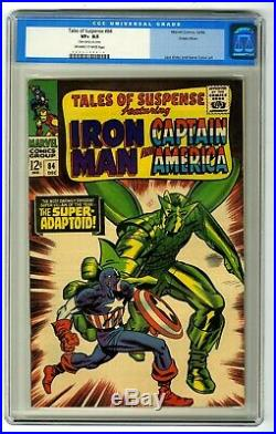Tales of Suspense #84 CGC 8.5 OW-W Pages! Green River Pedigree! Super-Adaptoid