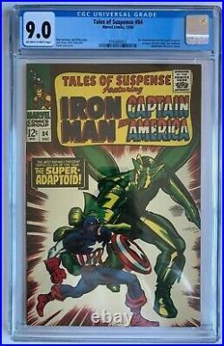 Tales of Suspense #84 CGC 9.0 Iron Man Super Adaptoid Marvel Comics