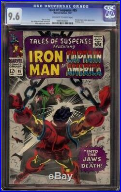 Tales of Suspense # 85 CGC 9.6 OWithW (Marvel, 1967) Mandarin cover & appearance