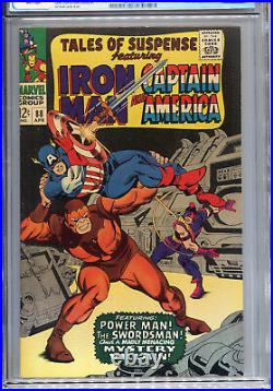Tales of Suspense #88 (Marvel 1967) CGC Certified 9.2 White Pages