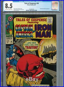 Tales of Suspense #90 (Marvel 1967) CGC Certified 8.5 Off-White-White Pages