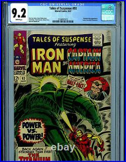 Tales of Suspense #93 CGC 9.2 1967 Silver Age Marvel MODOK Amricons B19