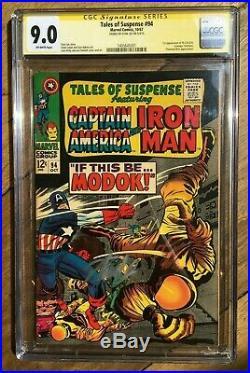 Tales of Suspense #94 1967 1st App of M. O. D. O. K STAN LEE CGC SS 9.0 1405645001