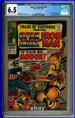 Tales of Suspense #94 (1967) CGC 6.5! 1st Appearance of M. O. D. O. K! Hulu Show