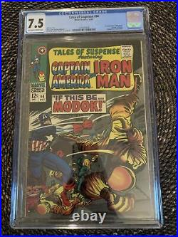 Tales of Suspense #94 (1967) CGC 7.5 1st MODOK Marvel OWithW Pages Hulu