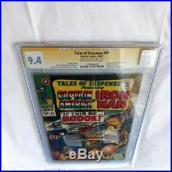 Tales of Suspense #94 1967 CGC 9.4 SS Signed Joe Sinnott 1st Appearance Modok