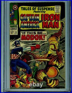 Tales of Suspense #94 CGC 7.5 1967 Silver Age Marvel 1st MODOK Amricons K27