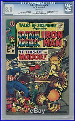 Tales of Suspense #94 CGC 8.0 1967 1340626028 1st app. Modok
