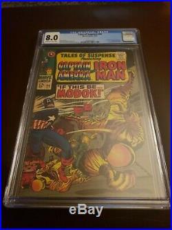 Tales of Suspense #94 CGC 8.0 OWithW 1st App of MODOK Marvel 1967 MCU NEW SHOW