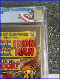 Tales of Suspense #94 CGC 8.5 Off Wht/ White Pages 1st MODOK