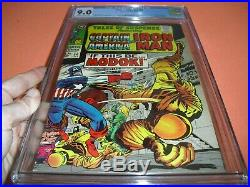 Tales of Suspense #94 CGC 9.0 with OWithW pages from 1967! 1st app MODOK not CBCS