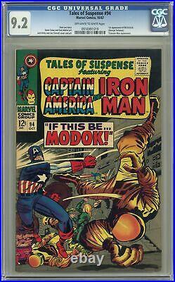 Tales of Suspense #94 CGC 9.2 1967 0916991019 1st app. Modok