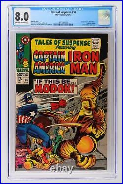 Tales of Suspense #94 Marvel 1967 CGC 8.0 1st Appearance of M. O. D. O. K. George