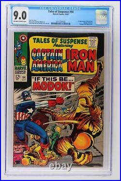 Tales of Suspense #94 Marvel 1967 CGC 9.0 1st Appearance of M. O. D. O. K. George