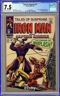 Tales of Suspense #97 CGC 7.5 1968 3735123001