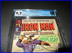 Tales of Suspense 97 CGC 9.2 NM-, 1st Whiplash (Marvel 1968)