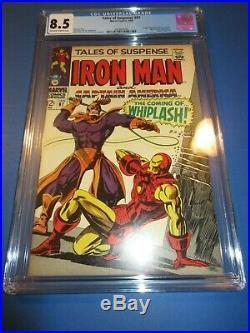 Tales of Suspense #97 Silver age Iron Man 1st Whiplash Key CGC 8.5 VF+ beauty