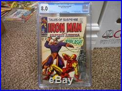 Tales of Suspense 97 cgc 8.0 1st appearance of Whiplash Marvel 1968 owithw pgs VF