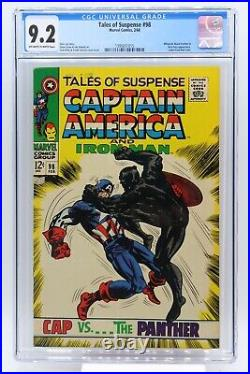 Tales of Suspense # 98 CGC 9.2 Whiplash, Black Panther & Nick Fury appearance