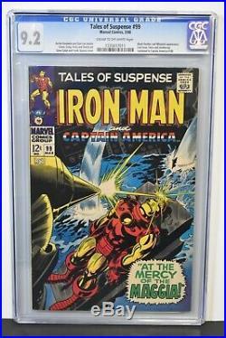 Tales of Suspense #99 (1968) CGC Graded 9.2 Stan Lee Story Jack Kirby Art